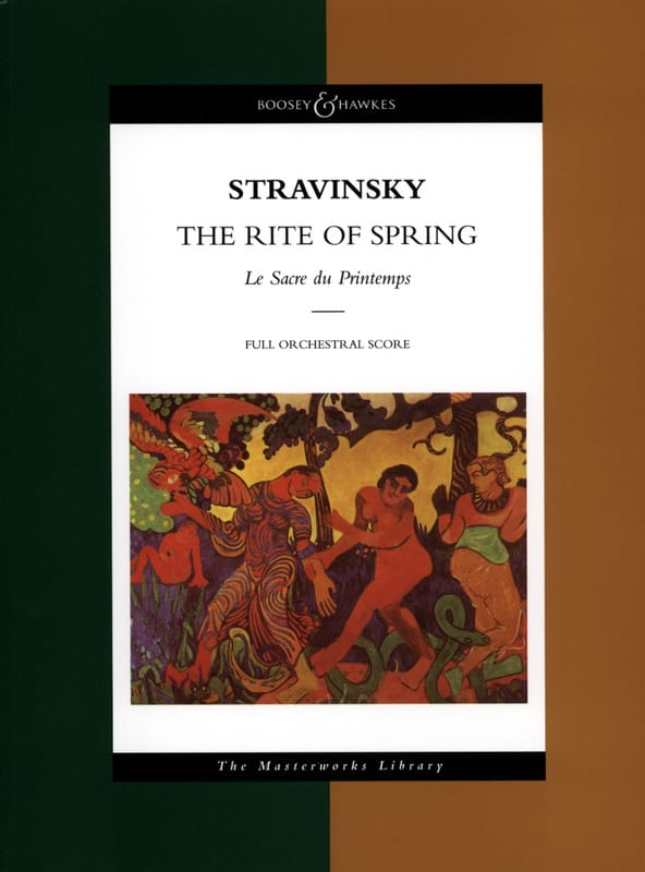 Igor Stravinsky - The Rite of Spring - Partition - di-arezzo.com