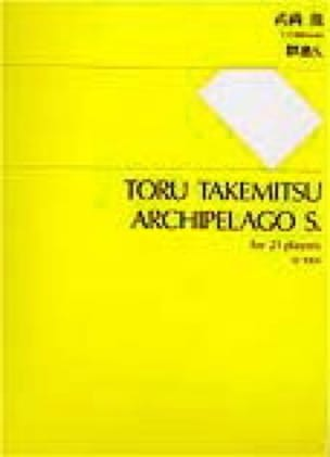 Toru Takemitsu - Archipelago S. - Partitur - Partition - di-arezzo.fr
