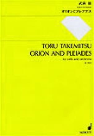 Orion and Pleiades - Partitur - TAKEMITSU - laflutedepan.com
