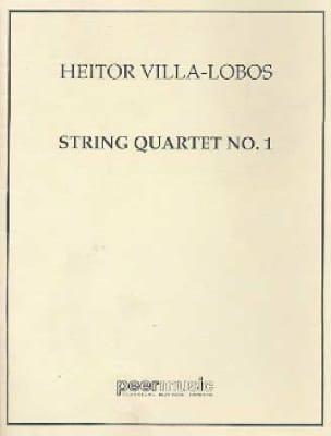 Quatuor à cordes n° 1 - Conducteur - VILLA-LOBOS - laflutedepan.com