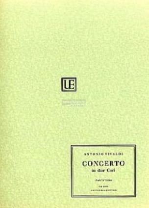 Concerto in due cori - Partitura - VIVALDI - laflutedepan.com