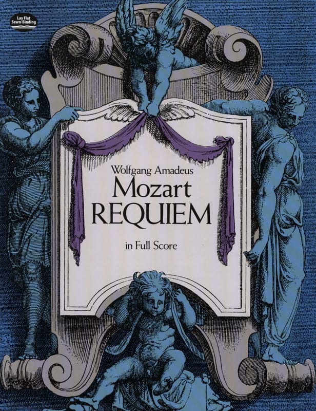 MOZART - Requiem Kv 626 - Score - Partition - di-arezzo.co.uk