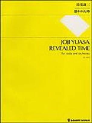 Revealed Time - Partitur - Joji Yuasa - Partition - laflutedepan.com