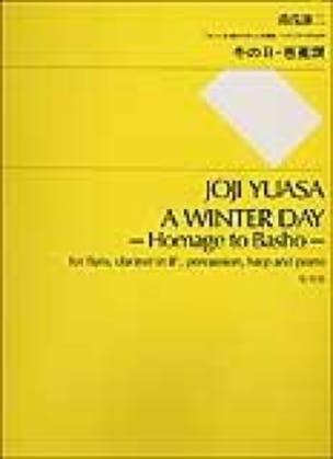 A Winter Day - Partitur - Joji Yuasa - Partition - laflutedepan.com
