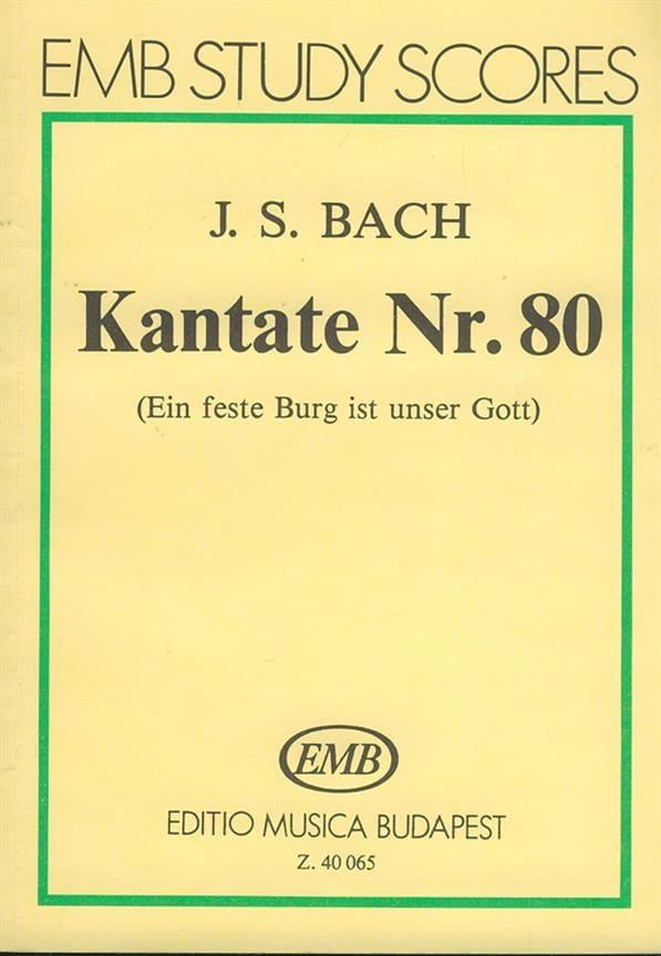 Kantate n° 80 - Partitur - BACH - Partition - laflutedepan.com