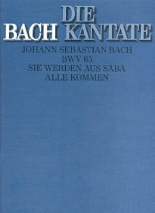 Cantate Sie Werden Aus Saba Alle Kommen BWV 65 - laflutedepan.com