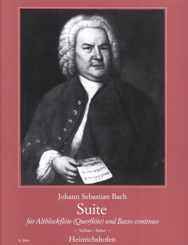 BACH - Suite for Altblockflöte - Partition - di-arezzo.com