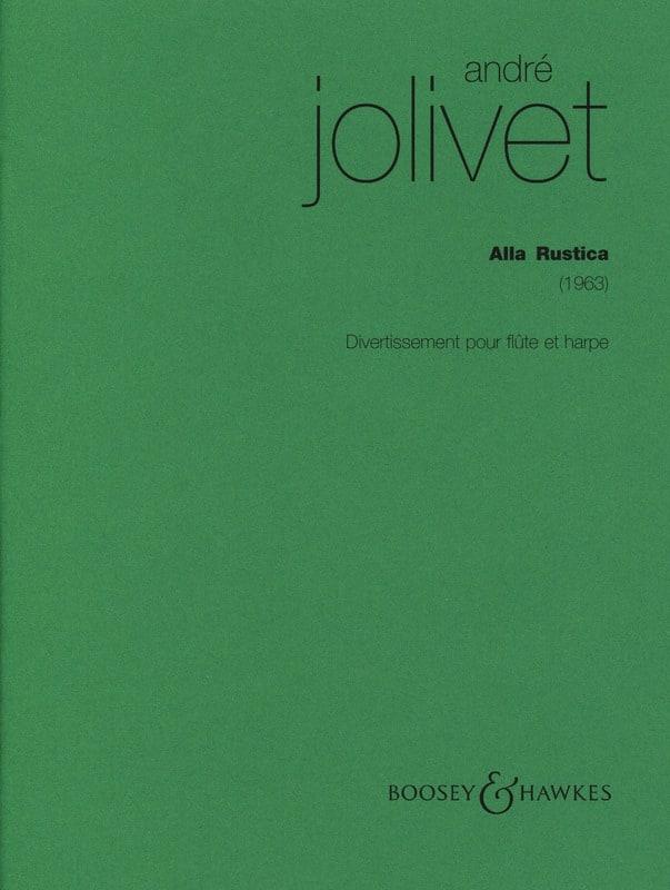 Alla Rustica - André Jolivet - Partition - Duos - laflutedepan.com