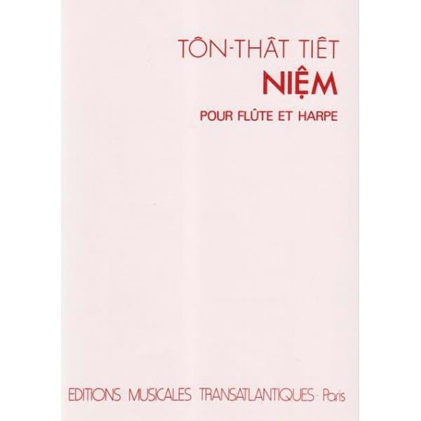 Niêm - Tiêt Ton-That - Partition - Duos - laflutedepan.com