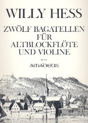 12 Bagatellen - Altblockflöte u. Violine - laflutedepan.com