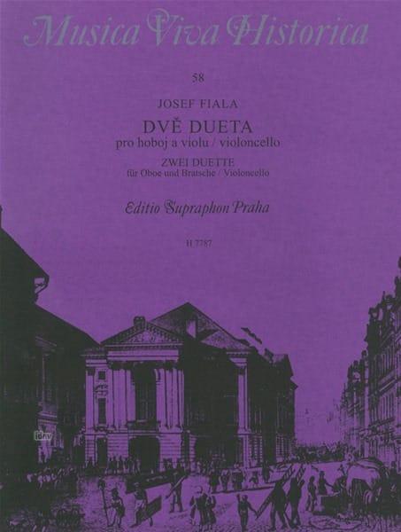 2 Duette - Oboe und Bratsche o. Violoncello - laflutedepan.com