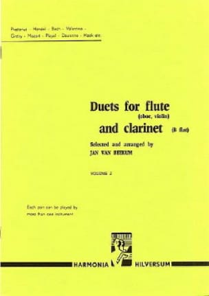 - Duets for flute and clarinet - Volume 2 - Partition - di-arezzo.co.uk