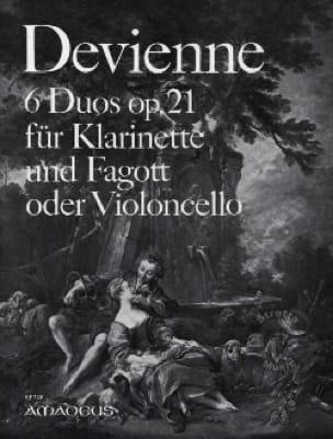 6 Duos op. 21 - Klarinette Fagott o. Violoncello - laflutedepan.com