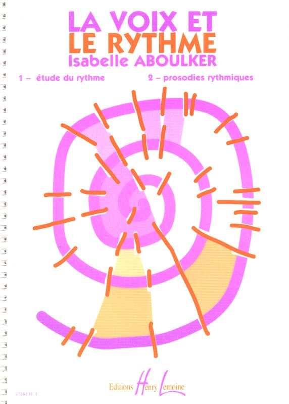 Isabelle Aboulker - Voice and Rhythm - Partition - di-arezzo.co.uk