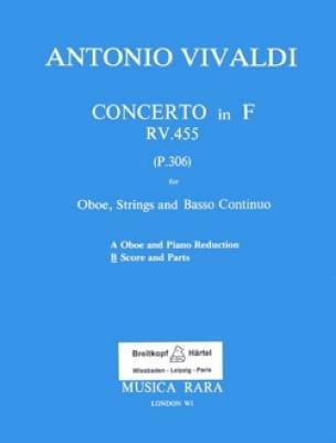 Concerto in F major RV 455 - Oboe strings Bc - laflutedepan.com