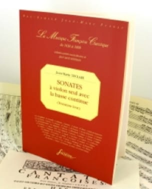 Jean-Marie Leclair - Sonatas 3rd book - Fac simile - Partition - di-arezzo.co.uk