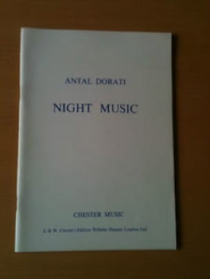 Night music - Conducteur - Antal Dorati - Partition - laflutedepan.com