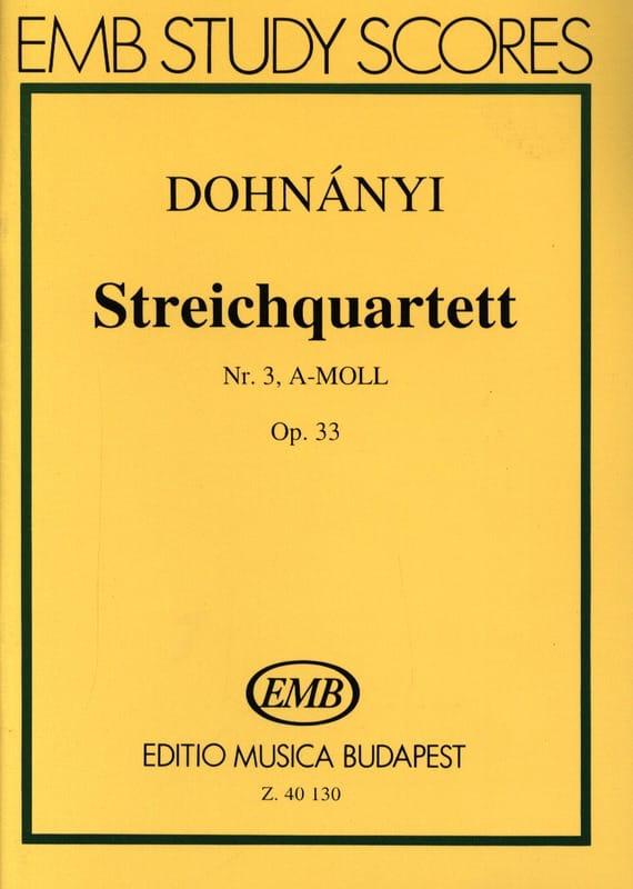 Quatuor à Cordes N° 3 Opus 33 en la Mineur - laflutedepan.com