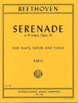 Serenade op. 25 D major -Flute violin viola - Parts - laflutedepan.com