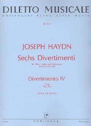 HAYDN - 6 Divertimenti, Divertimento Nr. 4 G-Dur - Driver and Parts - Partition - di-arezzo.com