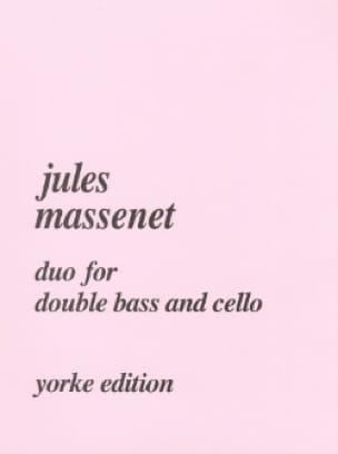 Duo for double bass and cello - MASSENET - laflutedepan.com