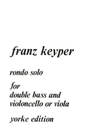 Rondo Solo for double bass and cello or viola - laflutedepan.com