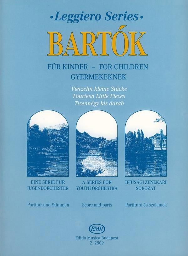 BARTOK - For Children - 14 little pieces - String orch. - Partition - di-arezzo.com