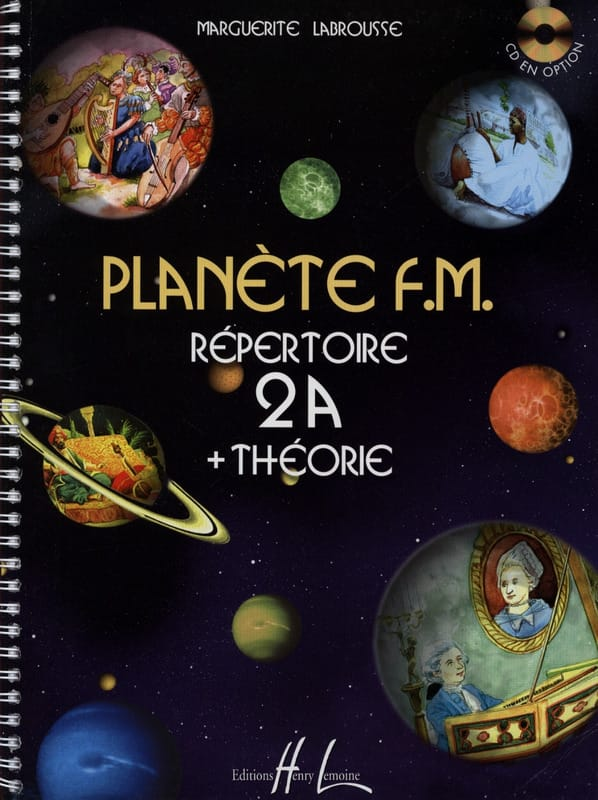 Marguerite Labrousse - Planet FM 2A - Directory di teoria - Partition - di-arezzo.it