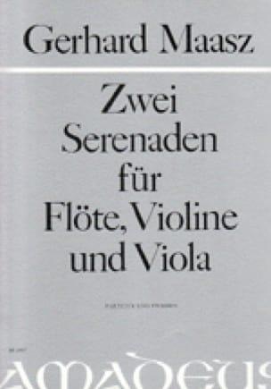 2 Serenaden -Flöte Violine Viola - Partitur + Stimmen - laflutedepan.com