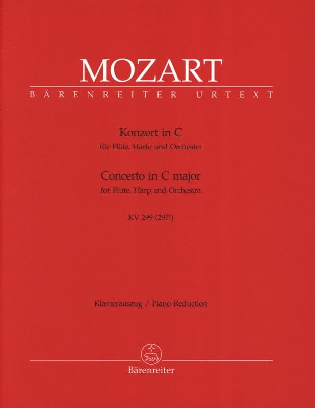 MOZART - Konzert C-Dur KV 299 - Flute Harfe Klavier - Partition - di-arezzo.co.uk