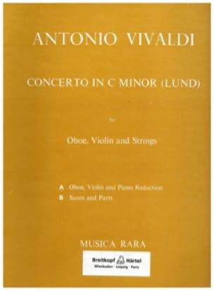 Concerto in C minor Lund -Oboe Violin piano - laflutedepan.com