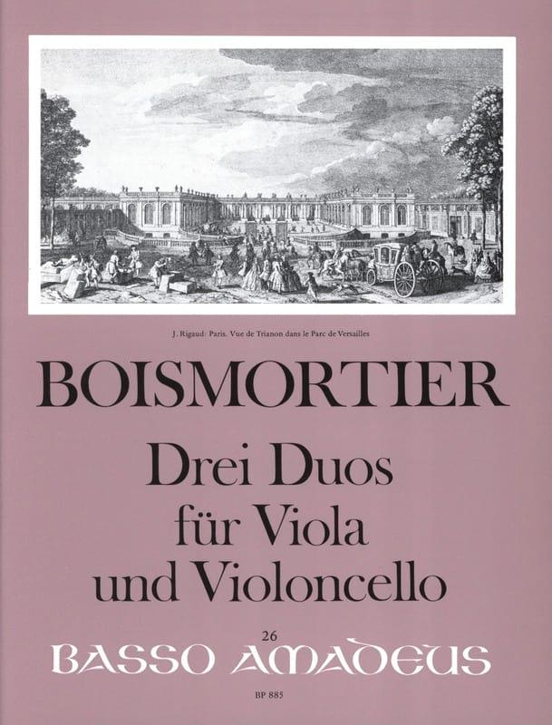 3 Duos Pour Alto et Violoncelle - BOISMORTIER - laflutedepan.com