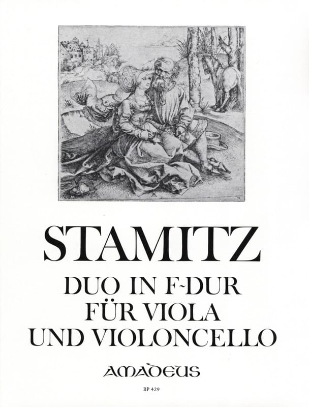 Carl Stamitz - Duo in F-Dur für Viola und Violoncello - Partition - di-arezzo.de