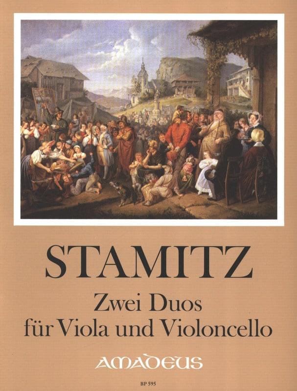 2 Duos für Viola und Violoncello - STAMITZ - laflutedepan.com