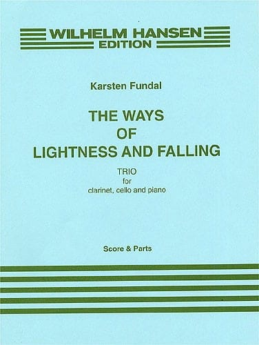 The Ways of Lightness and Falling - Score + Parts - laflutedepan.com