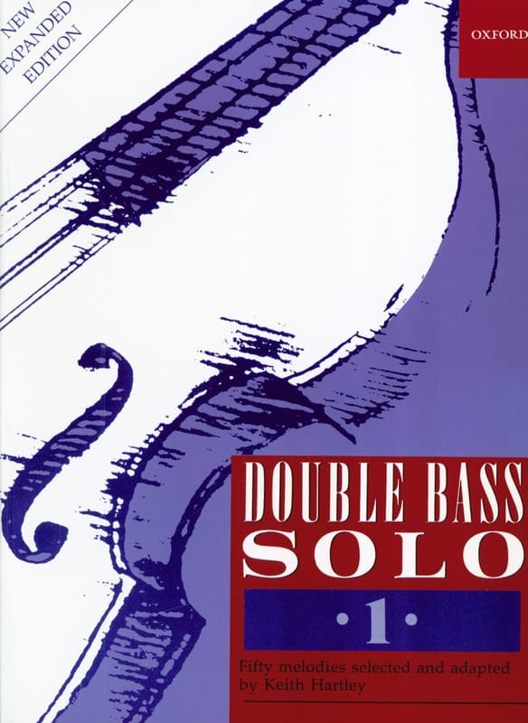 Keith Hartley - Double Bass Solo Volume 1 - Partition - di-arezzo.com