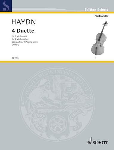 4 Duette - HAYDN - Partition - Violoncelle - laflutedepan.com