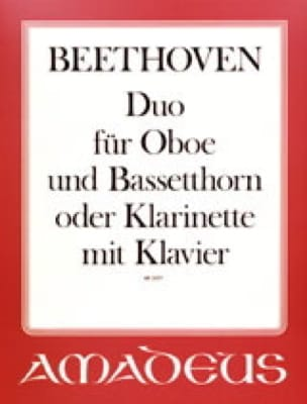 Duo für Oboe, Bassethorn o. Klarinette u. Klavier - laflutedepan.com