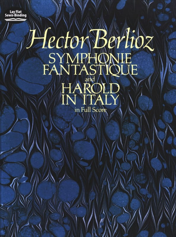 BERLIOZ - Symphony Fantasy / Harold In Italy - Full Score - Partition - di-arezzo.co.uk