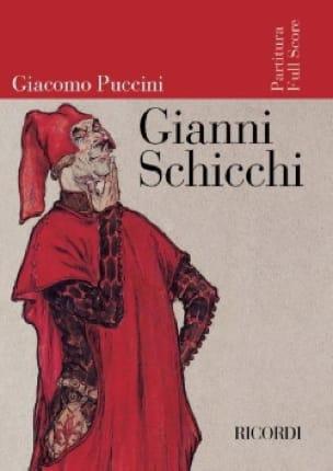 Giacomo Puccini - Gianni Schicchi, Opera - Partition - di-arezzo.co.uk