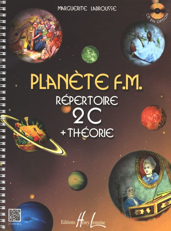 Marguerite Labrousse - Planet FM 2C - Directory di teoria - Partition - di-arezzo.it