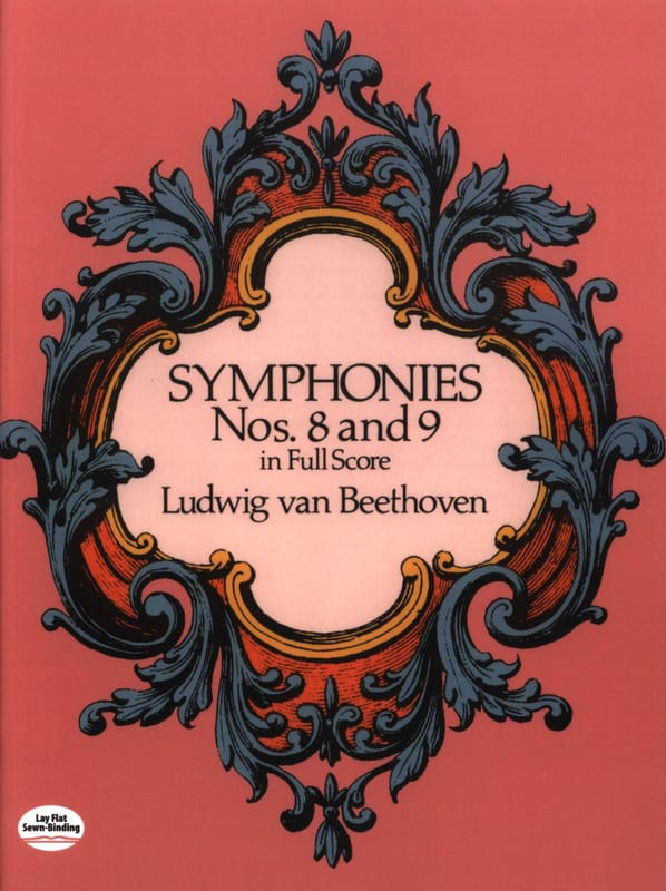 BEETHOVEN - Symphonies N ° 8 - 9 - Full Score - Partition - di-arezzo.co.uk