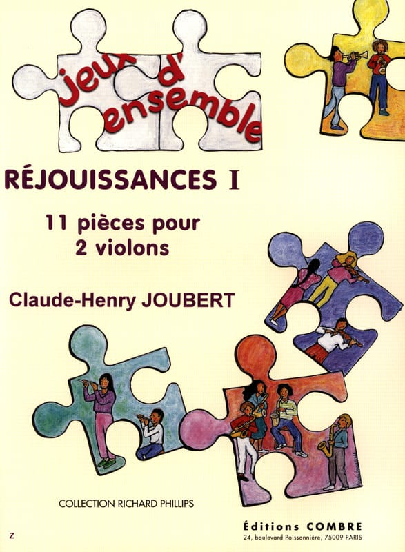 Claude-Henry Joubert - お祝い1 - Partition - di-arezzo.jp