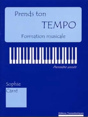 Sophie Carré - Take your Tempo - Partition - di-arezzo.co.uk