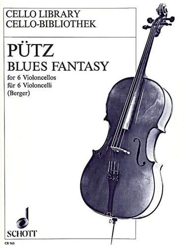 Eduard Pütz - Fantasy Blues - 6 Cellos - Partition - di-arezzo.co.uk