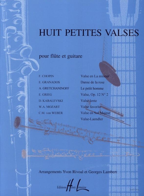 Huit Petites Valses - Arrgt Rivoal & Lambert - laflutedepan.com