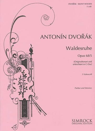 DVORAK - Waldesruhe op. 68 n ° 5 - Partition - di-arezzo.co.uk
