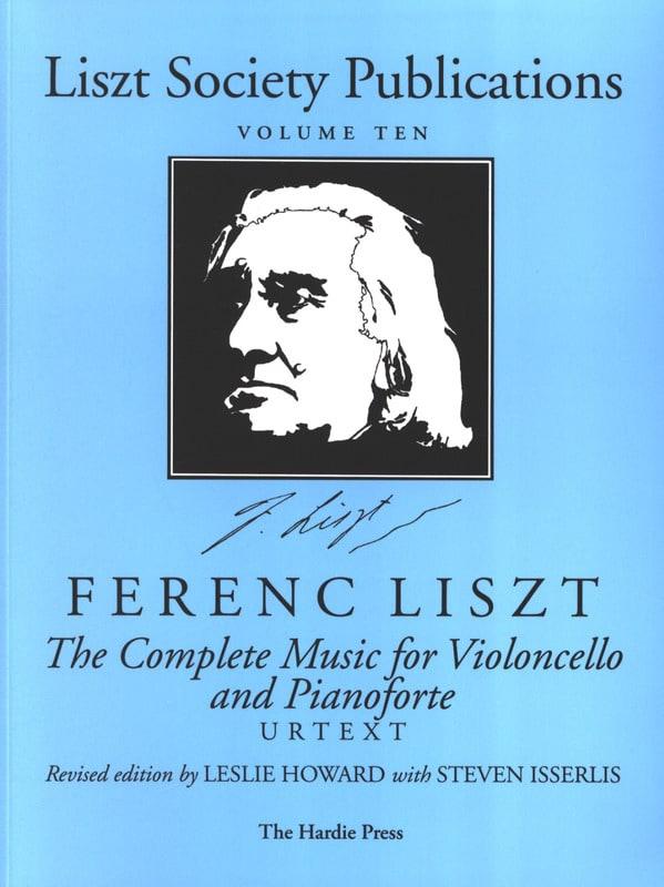 Complete Music for Violoncello and Piano - LISZT - laflutedepan.com