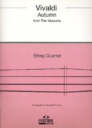 VIVALDI - Otoño de cuatro estaciones - Cuarteto de cuerdas - Partition - di-arezzo.es