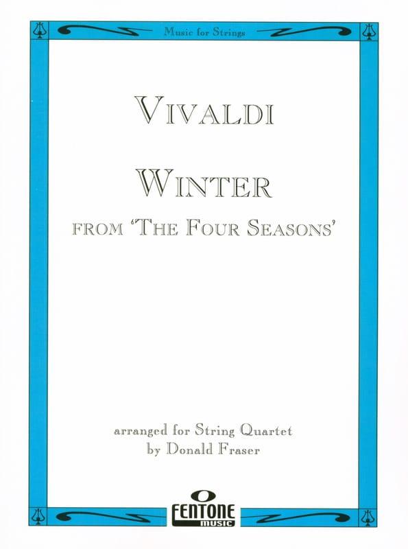 VIVALDI - Invierno de las cuatro estaciones - Cuarteto de cuerdas - Partition - di-arezzo.es